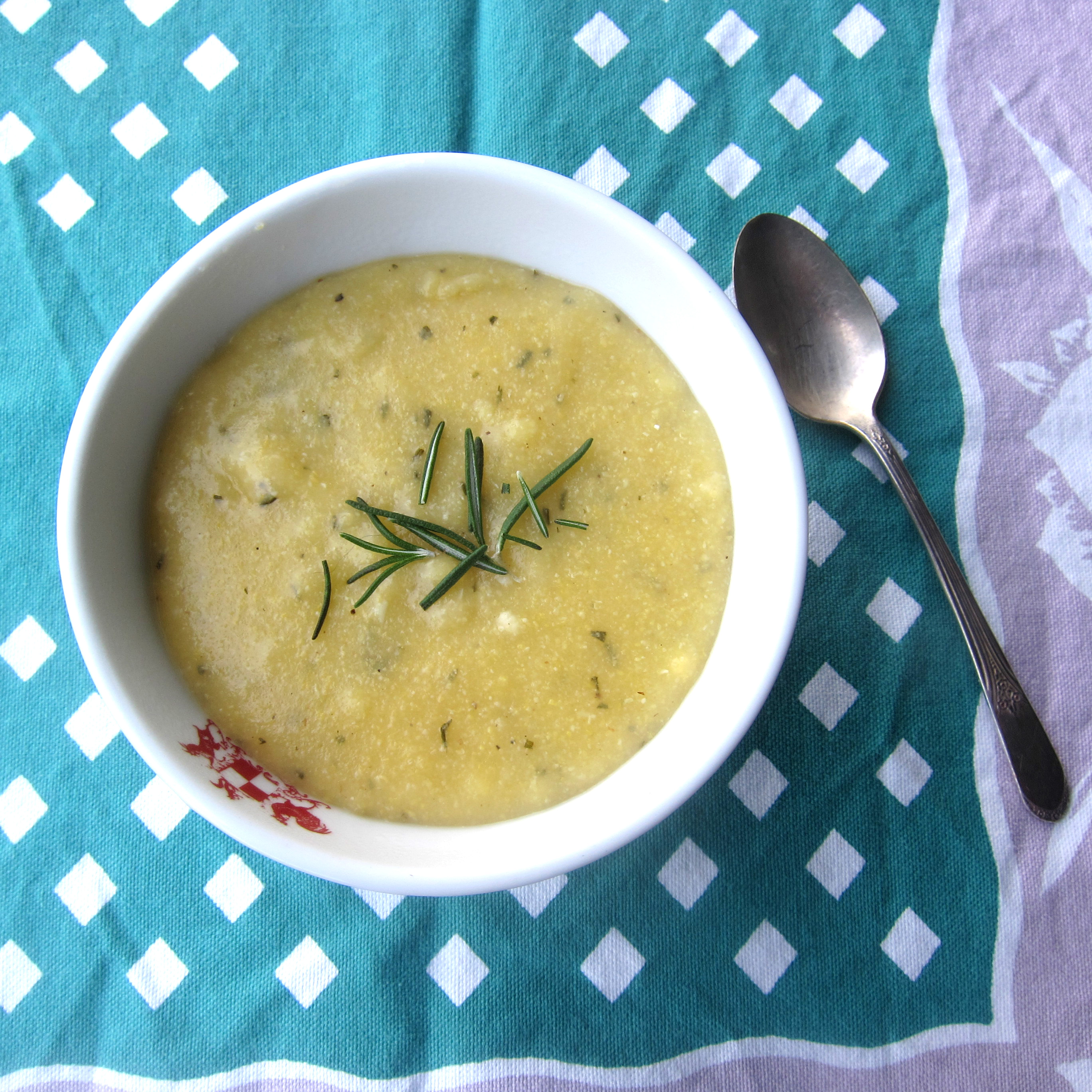 Rosemary Polenta Recipe | Stitch and Boots