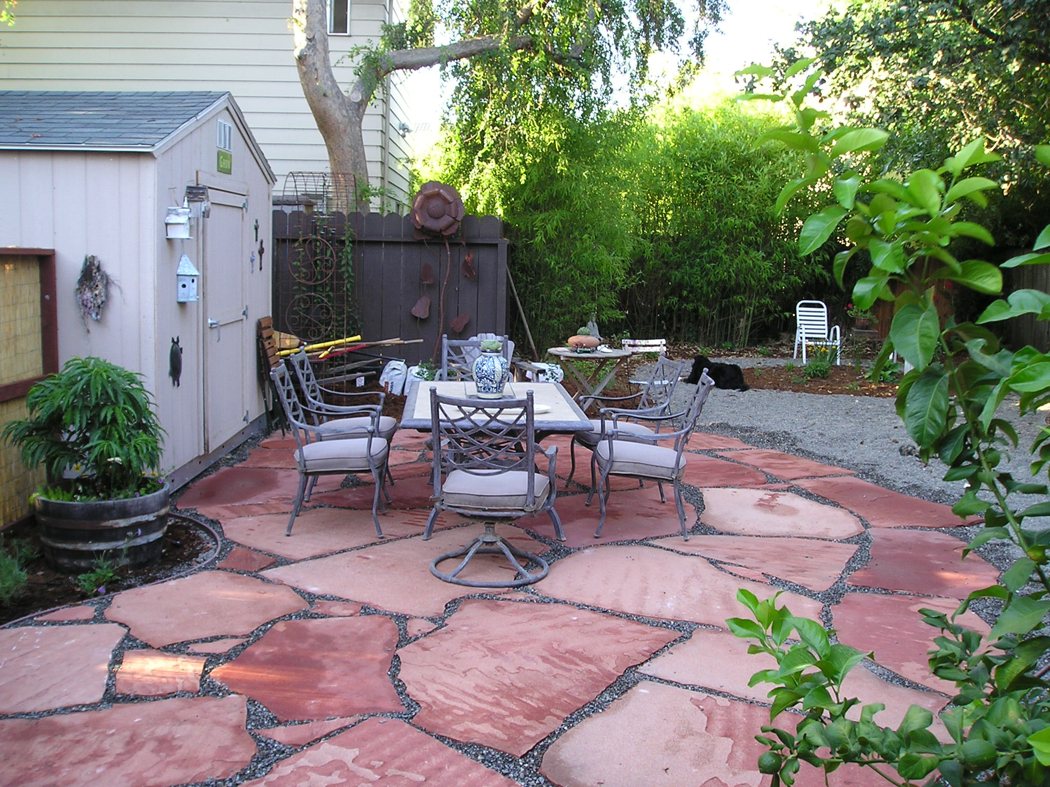 A tour of the house we re moving to in santa rosa stitch for Low maintenance backyard