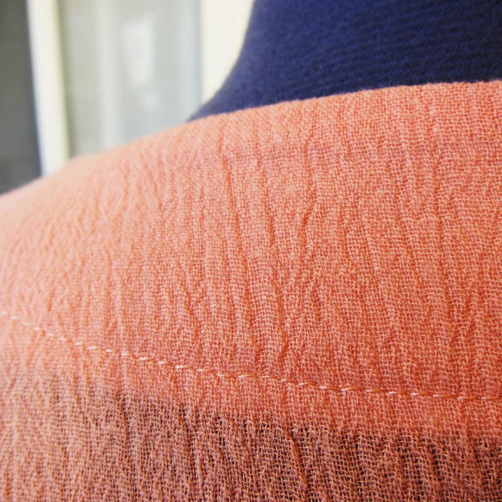 clean stitching