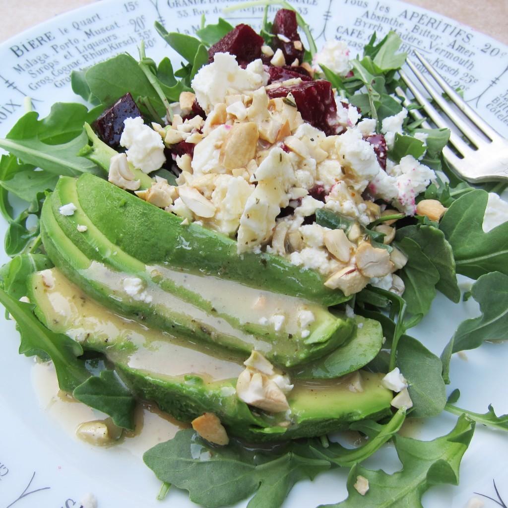 Taras beet salad