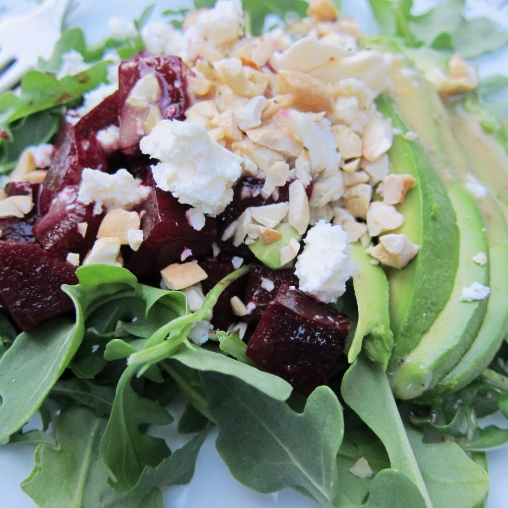 cashew beet salad