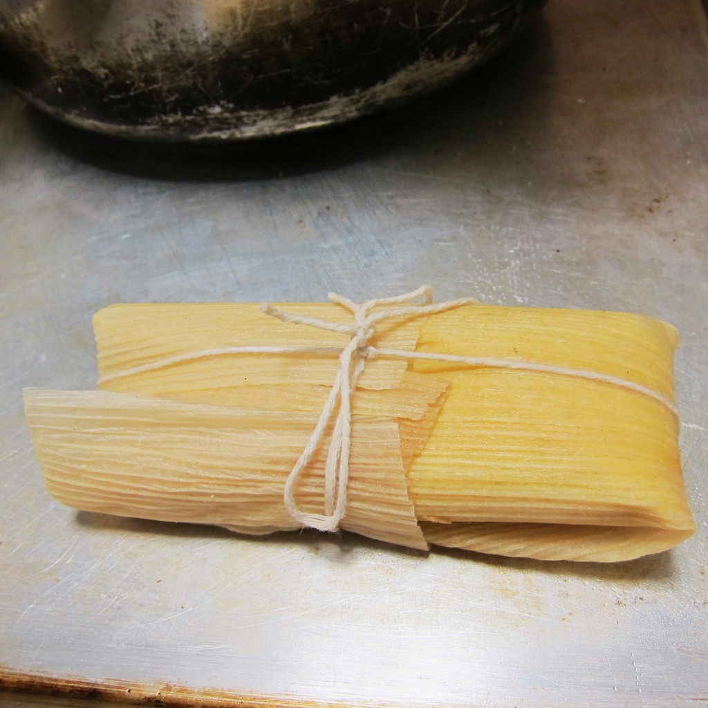 string tied tamale