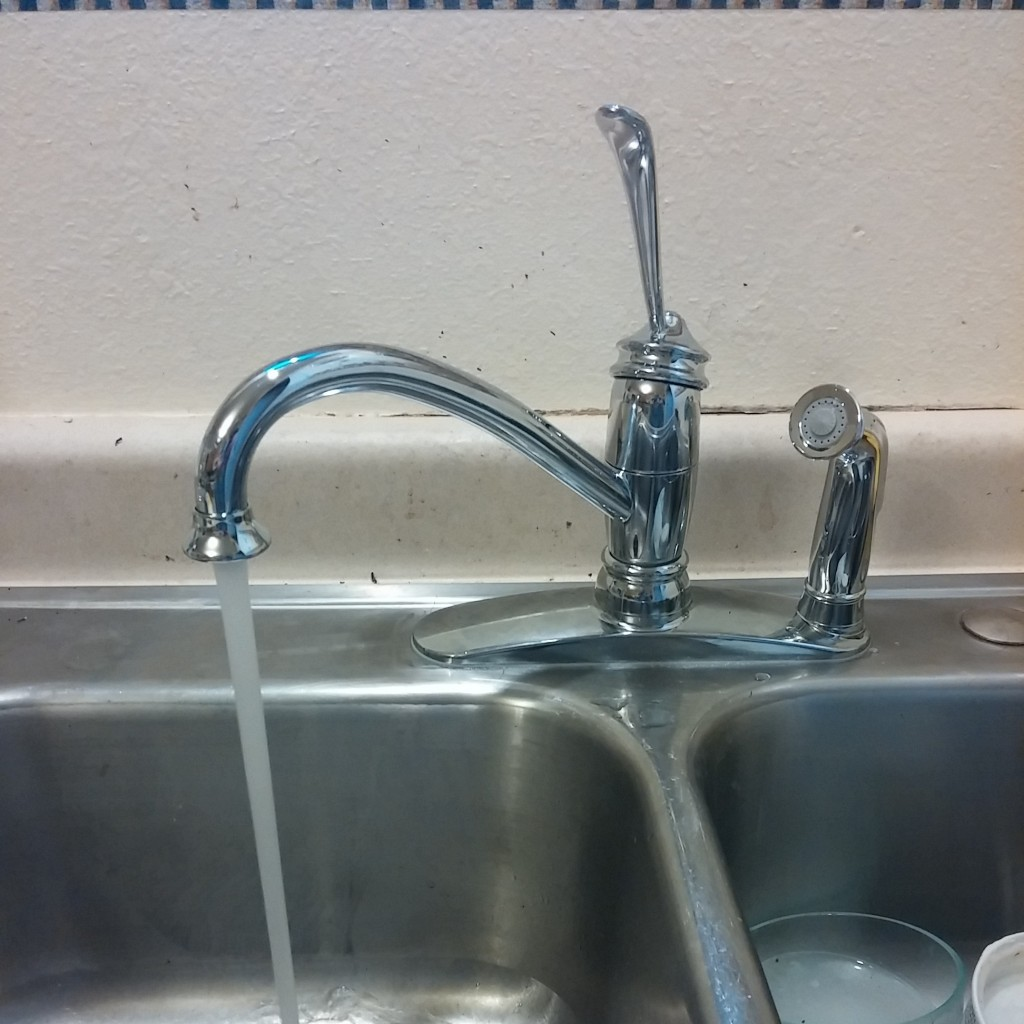 New Faucet Stitch And Boots